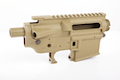 Madbull M4 Metal Body Ver.2 w/ Self Retaining Pins & Shortened Stock Tube (Viking Tactical Marking) - FDE