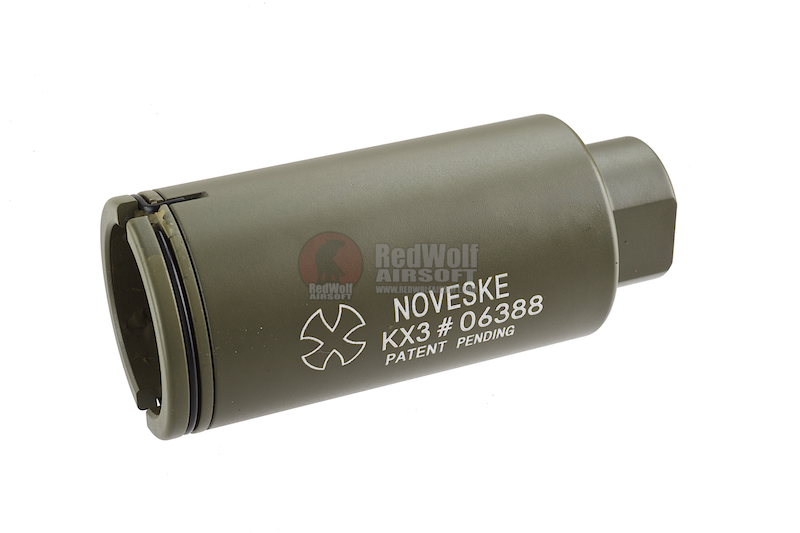 Madbull Noveske KX3 Adjustable Amplifier Flash Hider CCW (OD)