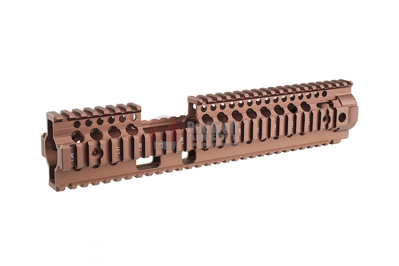 Madbull Daniel Defense Omega X Rail FSP (12 Inch / Tan) <font color='red'>(Blowout Sale)</font>