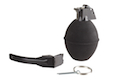 Madbull Powder Shot 02 Toy Foam Hand Grenade Dummy Edition (Black)