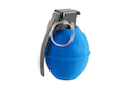 Madbull Powder Shot 02 Toy Foam Hand Grenade Dummy Edition (Blue)