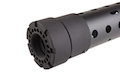Madbull PRI licensed GIII Round 12.5 inch Rail w/ Extra Adjustable Rail Sections - BK (Mat. Polymer)