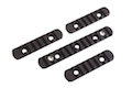 Madbull PRI licensed GIII Round 9 inch Rail w/ Extra Adjustable Rail Sections - BK (Mat. Carbon Fiber)