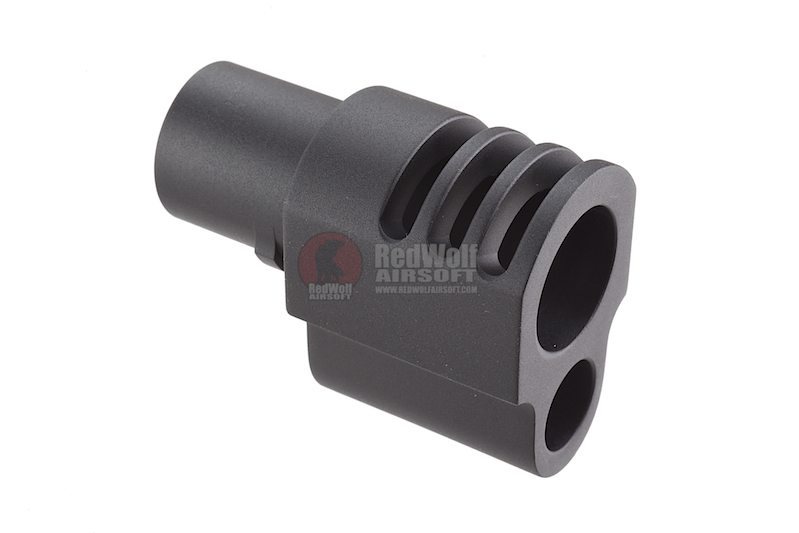 Madbull Punisher Style Compensator for Socom Gear / WE 1911 (Black)