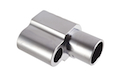 Madbull Punisher Style Compensator for Socom Gear / WE 1911 (Silver)