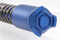 Strike Industries Forward Assist Lightweight Low Profile Aluminum Construction Available for M4 GBBR Series - Blue
