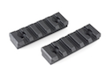 Strike Industires 2pcs Polymer 5 Slot KeyMod Short Rail Section (Milsim Spec)<font color=yellow> (Summer Sale)</font>