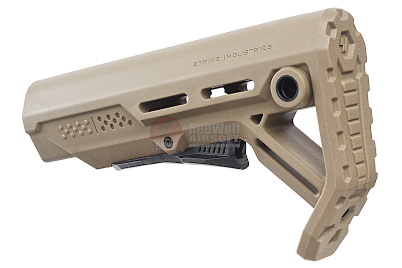 Strike Industries Viper Mod 1 Mil-Spec Carbine Stock for AR GBB Series FDE / Black