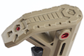 Strike Industries Viper Mod 1 Mil-Spec Carbine Stock for AR GBB Series FDE / Red