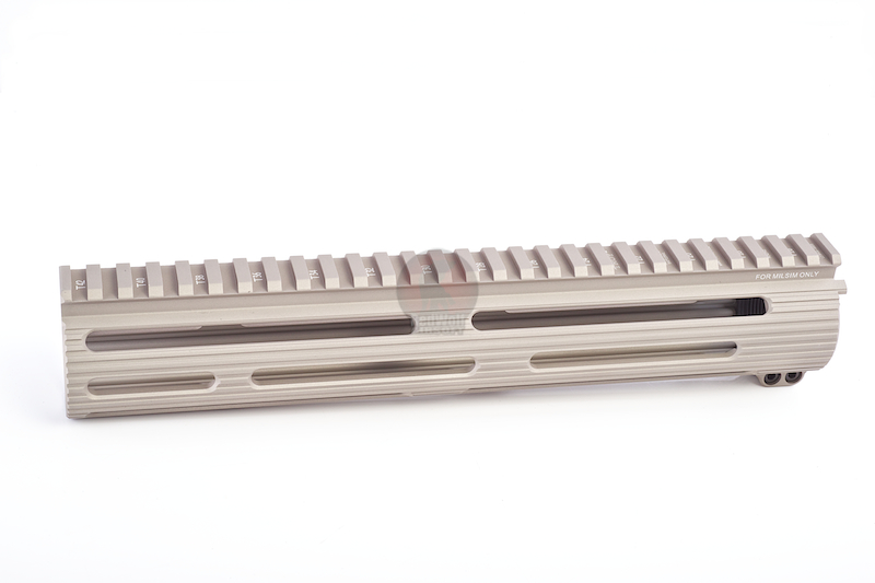 Madbull Viking Tactics Extreme BattleRail 11 inch w/ 3 Bonus Quick-Attach Rail Sections - FDE