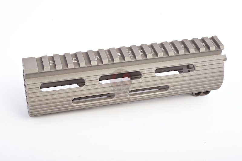 Madbull Viking Tactics Extreme BattleRail 7in w/ 3 Bonus Quick-Attach Rail Sections - FDE <font color=yellow>(Clearance)</font>