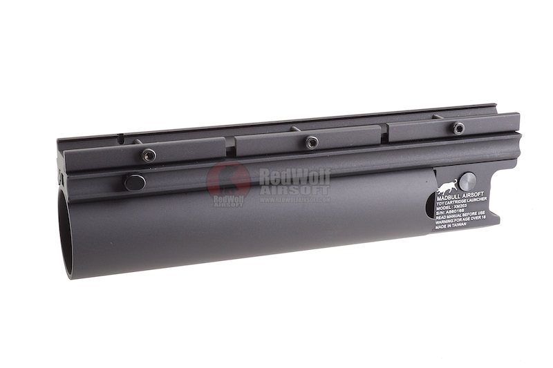 Madbull XM203 BB Launcher Black (Long)