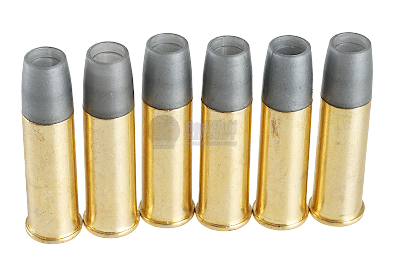 Gun Heaven (WinGun) Webley 6mm Shell for MK VI Co2 Revolver (6pcs / box)