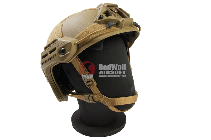 PTS MTEK FLUX Helmet - Flat Dark Earth