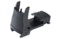 MFT Back Up Polymer Flip Up Front Sight w/ Standard iron Sight Elevation Adjustment - BK