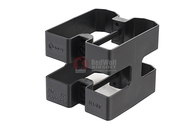MFT M4/M16 Mag Coupler (M16MC). Manufactured From High Density Polymer - BK
