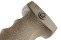 MFT React Ergonomic Vertical Grip (REG). Contoured finger swells - FDE
