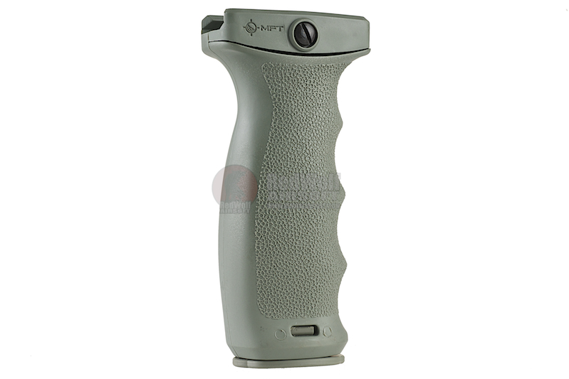 MFT React Ergonomic Vertical Grip (REG). Contoured finger swells - FG