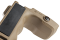 MFT React Magwell Grip (RMG). Allows less effort to direct muzzle - FDE