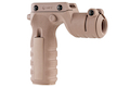MFT React Torch and Vertical Grip (RTG). Vertical grip with illumination mount - FDE