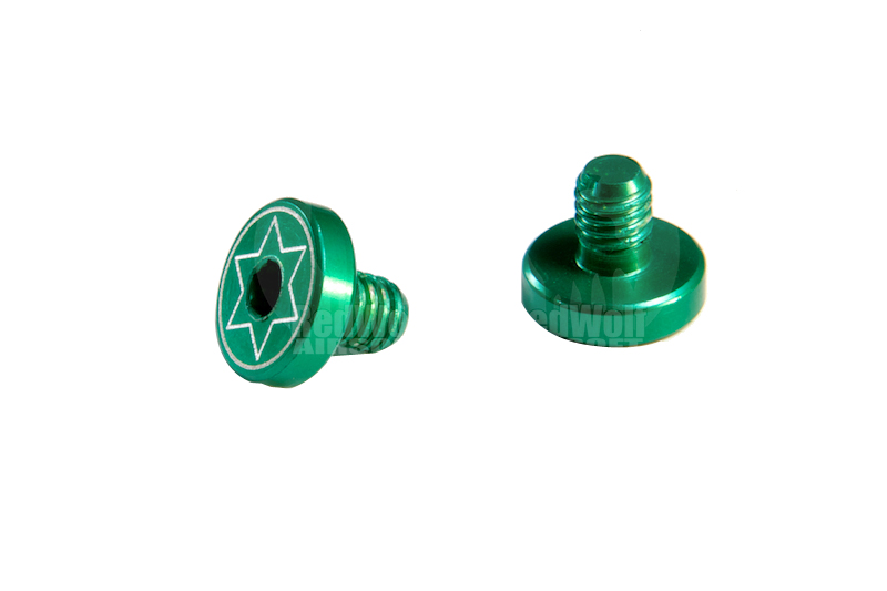 MIC IPSC Grip Screw (Hi-Capa / Green)