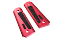 MIC Titanium 1911 Grip Cover (Red)