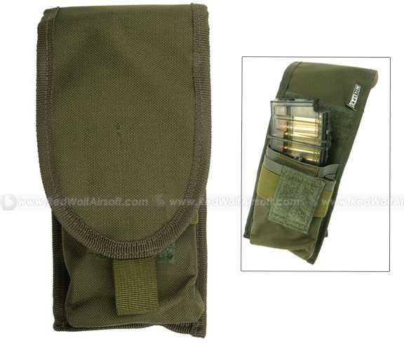 Milspex M16 Single Mag Pouch (OD) <font color=yellow>(Clearance)</font>