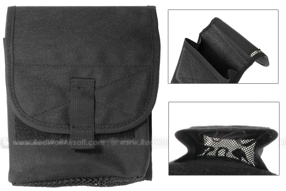 Milspex MOLLE Accessories Pouch (Black)