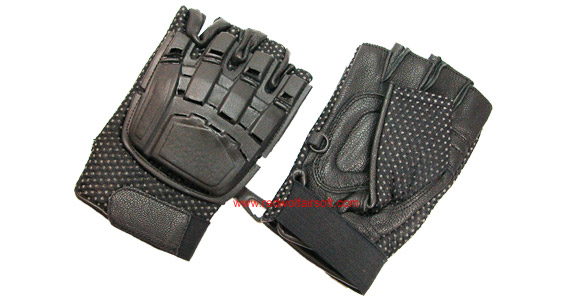 Milspex Tactical Fingerless Gloves (Large)