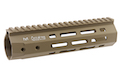 ARES 201mm Handguard Set for M-Lok System - Dark Earth
