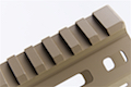 ARES 145mm Handguard Set for M-Lok System - Dark Earth