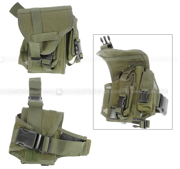 Milspex Combat Leg Holster (OD) <font color=yellow>(Clearance)</font>