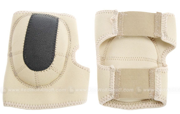 Milspex Neoprene Elbow-pads (Tan) <font color=yellow>(Clearance)</font>