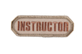 MSM Instructor Patch - Desert  <font color=red>(HOLIDAY SALE)</font>