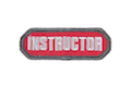 MSM Instructor Patch - Red