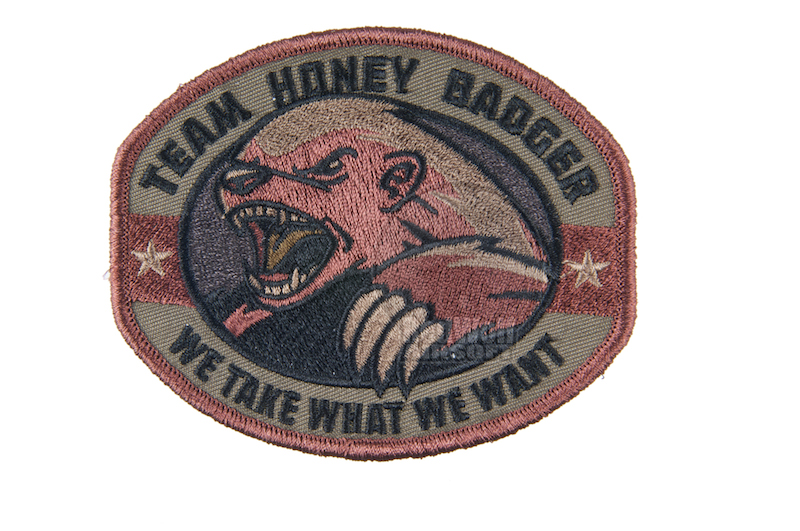 MSM Honey Badger Patch (Forest)