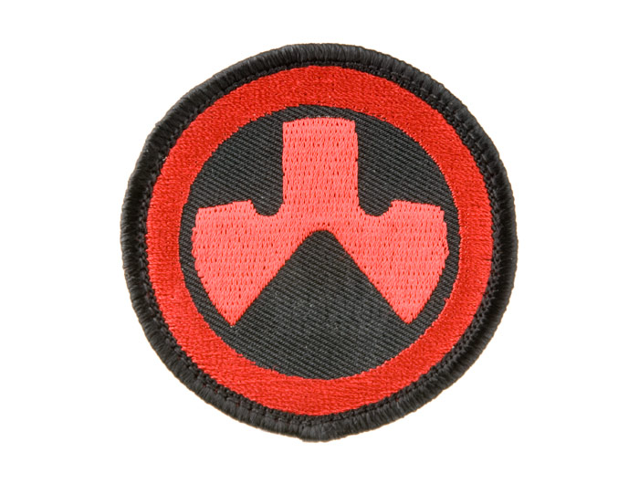Magpul PTS Logo Patch (Red/Black)
