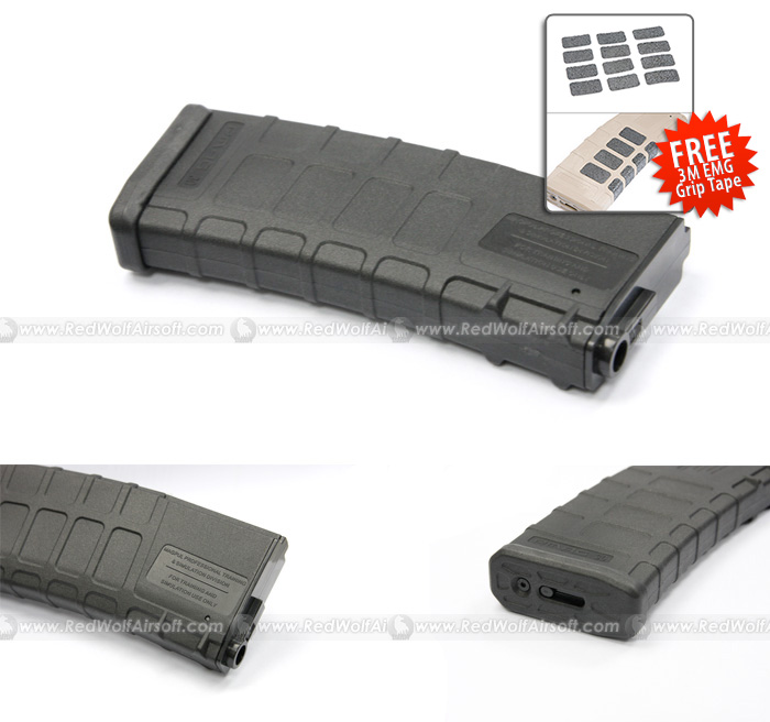 Magpul 120rds PMag for Marui M4 / M16 (Black)