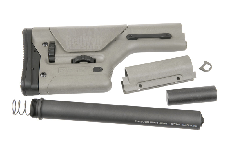 Magpul PTS PRS Stock - For Gas Blowback Rifles (Foliage Green)