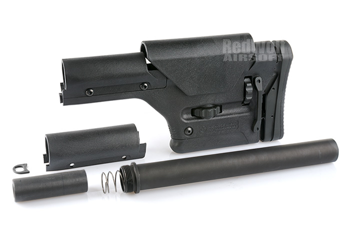 Magpul PTS PRS Stock - For Gas Blowback Rifles (Black)