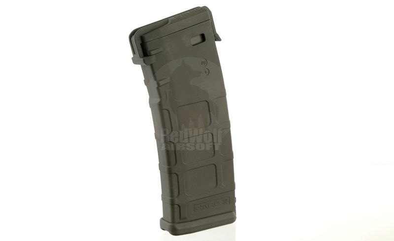 Magpul PTS PMAG M-Version Magazine (Mid Cap 120 Rds) - Foliage Green