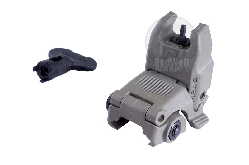 Magpul PTS MBUS2 Front Sight (Foliage Green)