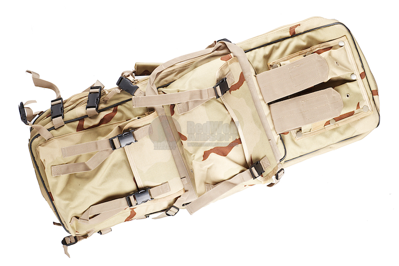 Milspex Multi-Size Dual Rifle Backpack Carry Bag (Tri-Color Desert)
