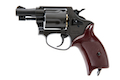 Marushin X Cartridge Police Revolver 2 Inch (Black / Heavy Weight) 6mm BB