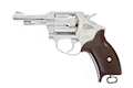 Marushin X Cartridge Police Revolver 3 Inch (Silver / ABS) 6mm