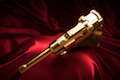 Marushin P08 4inch (Model Gun / Gold)