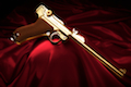 Marushin P08 8inch (Model Gun / Gold)