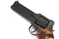 Marushin Mateba Revolver X-Cartridge Series (6mm Black Heavy Weight w/ Wooden Grip)