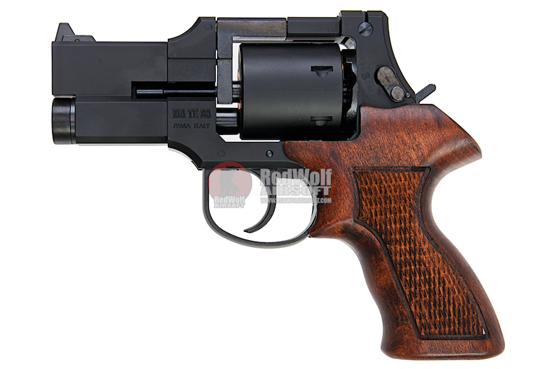 Marushin Mateba Revolver 6mm X-Cartridge Series 3 inch Matt Black