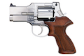 Marushin Mateba Revolver 6mm X-Cartridge Series 3 inch Silver